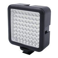 64 LED Camera LED Panel light,Portable Dimmable Camera Camcorder Led Panel Video Lighting for DSLR Camera