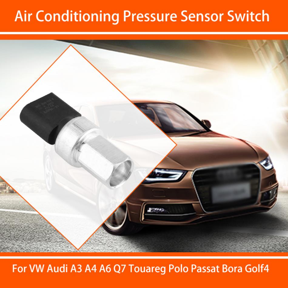 Car A/C Pressure Sensor Switch for VW Audi A3 A4 A6 Q7 Touareg Passat Bora Golf4 Car-Styling