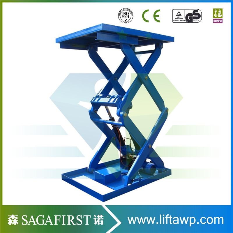 European Quality Stationary Scissor Lift Table