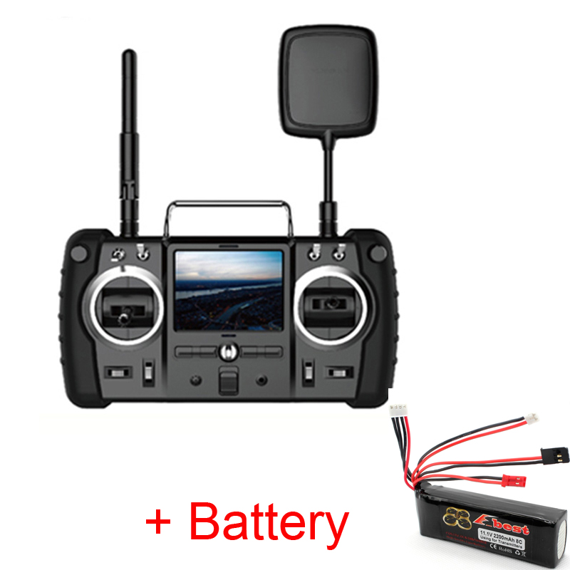 (With Battery ) Remote Controller Transmitter For Hubsan x4 Pro H109S / H501S / H501A / H301S Quadcopter H906A Accessories hubsan h501s lipo battery 7 4v 2700mah 10c 3pcs batteies with cable for charger hubsan h501c rc quadcopter airplane drone spare