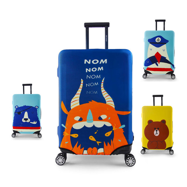 Mytrip 2017 New Cartoon Elastic Luggage Protective Covers Cover For 18-32 Inch Suitcase Elastic Luggage Cover, Travel Accessorie