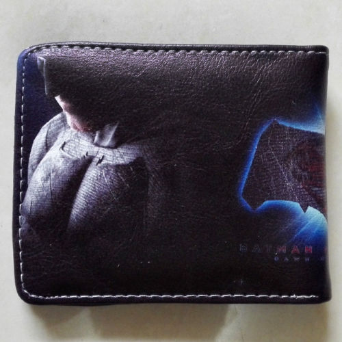 2018 Movie Batman v Superman Dawn of Justice wallets Purse Multi 12cm Leather W340