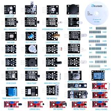 цена на 37-in-1 Sensor Module Kit for Arduino UNO R3, MEGA, NANO With Gift