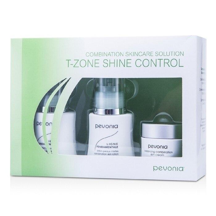 Pevonia Botanica - Combination Skincare Solution - T-Zone Shine Control: Cleanser 50ml/1.7oz + Lotion 50ml/1.7oz + Cream20ml/... духи vivinevo 50ml