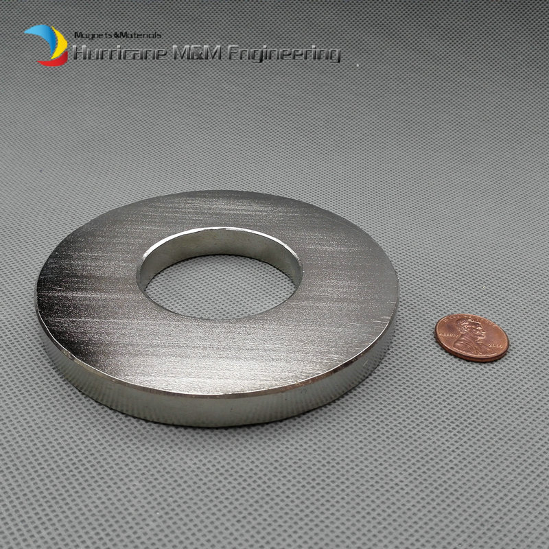 2 pcs N52 Magnet Large Ring OD 100xID 45x10 mm thick about 4 round NdFeB Strong Neodymium Rare Earth Permanent Magnet sr 02 olive shaped neodymium magnet dark grey 4 pcs