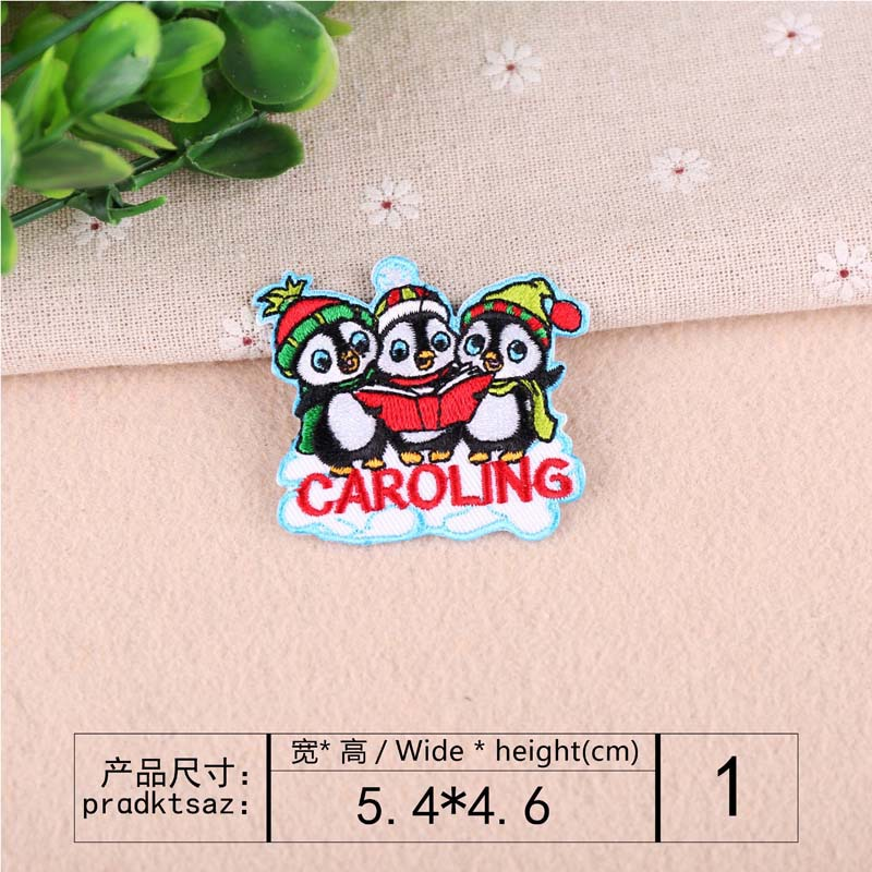 VIPOINT embroidery fox deer frog fish sheep patch cartoon patches badges applique patches for clothing YX 115 in Patches from Home Garden