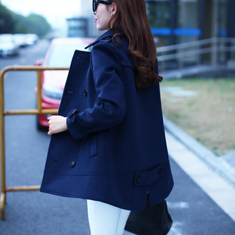 4a0991092b9c0 2016 Plus Size Women S Fall And Winter Clothes Newest Fat Female Elegant  Cape Style Coat Jacket Woolen Coat Manteau Femme-in Wool   Blends from  Women s ...