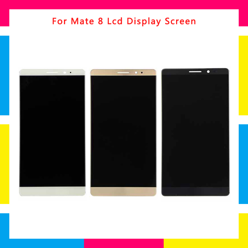LCD Display Screen With Touch Screen Digitizer Assembly For Huawei Mate 8 Mate8 Black White Gold ReplacementLCD Display Screen With Touch Screen Digitizer Assembly For Huawei Mate 8 Mate8 Black White Gold Replacement