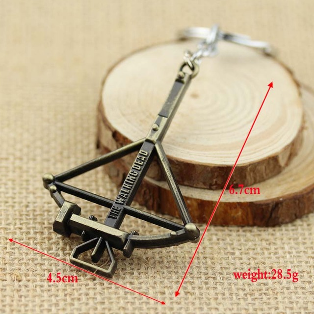 The Walking Dead Crossbow Keychain
