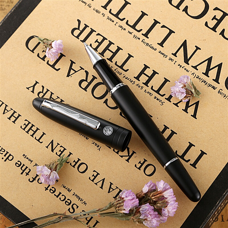 Image 3 - Picasso 932 Inherit Matte Black Roller Ball Pen with Ink Refill,  Noblr Gift Box Optional Office Business School Writing Gift-in Ballpoint Pens from Office & School Supplies