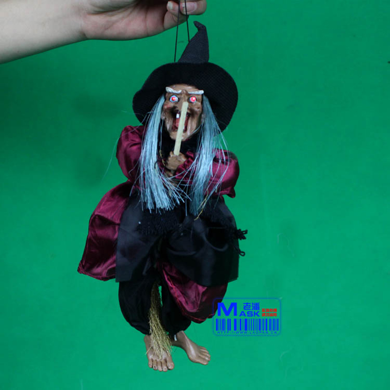free shipping30cm halloween decoration haunted househorrors bar decorationsound control hanging