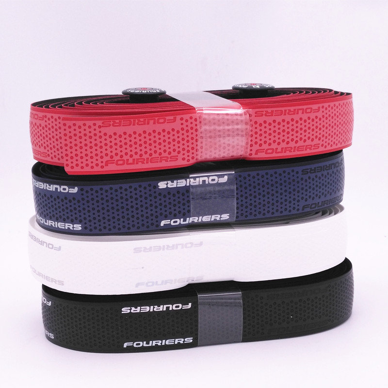 Fouriers PU reflect light Bar Tape Road Bike Handlebar Tape And Plugs 4 colors