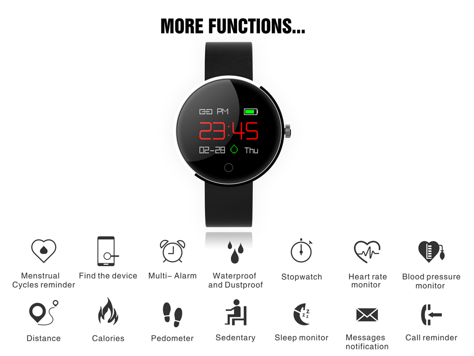 COLMI DM78 Smart Bracelet Blood Pressure Heart Rate Monitor IP68 waterproof Call reminder Activity Tracker Smart Band 02