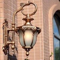 Indoor Outdoor Rainproof Wall Lamps Garden Porch Building Aisle Front Door Stair Cafe Warehuse Living Room