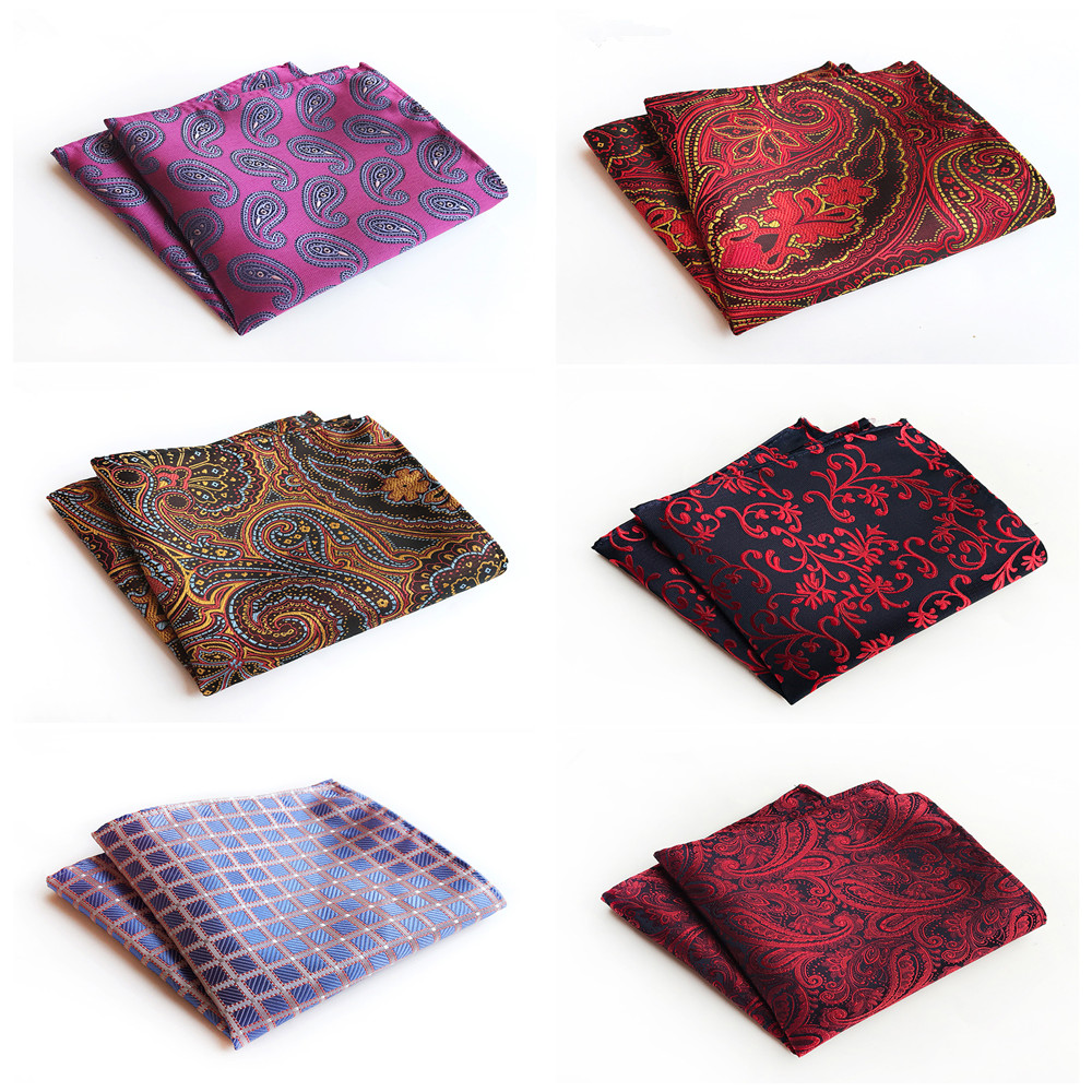 2019 Fashion Explosion Polyester Material Men's Formal Retro Handkerchief Pocket Towel Unique Design Fashion Suit Pocket Towel