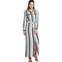 Elegant Boho Bohemia Party Long Shirt Dress Women Long Sleeve Tunic Maxi Dress Robe Femme Vestidos Vestido De Festa Spring 2016