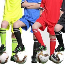 3 шт детские высокие эластичные футбольные гольфы длинные до