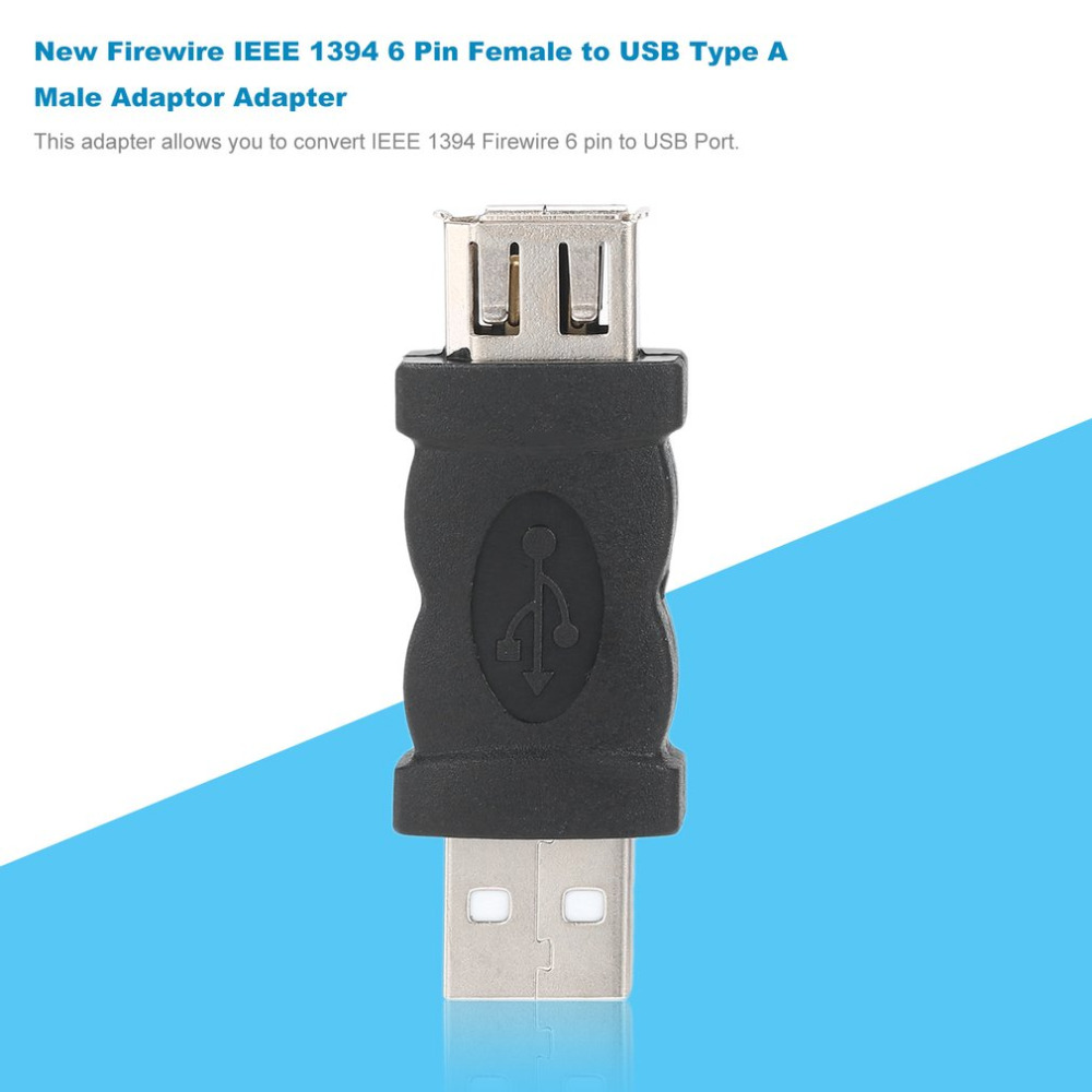 New Firewire IEEE 1394 6 Pin Female to USB 2.0 Type A Male Adaptor ...