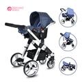 Bebé querido una tecla de bebé plegable cesta cochecito de bebé y marco De aleación de Aluminio cochecito de bebé jogger SGS ECE aprobado
