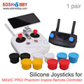Sunnylife Universal Remote Controller Joysticks Silicone Thumb Rocker Cover Pitman for DJI MAVIC PRO/ Phantom 3 4/ Inspire