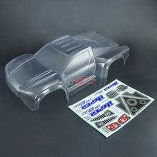 1 8 HOBAO 8SC remote control short truck parts transparent short truck shell PC89818 590mm long