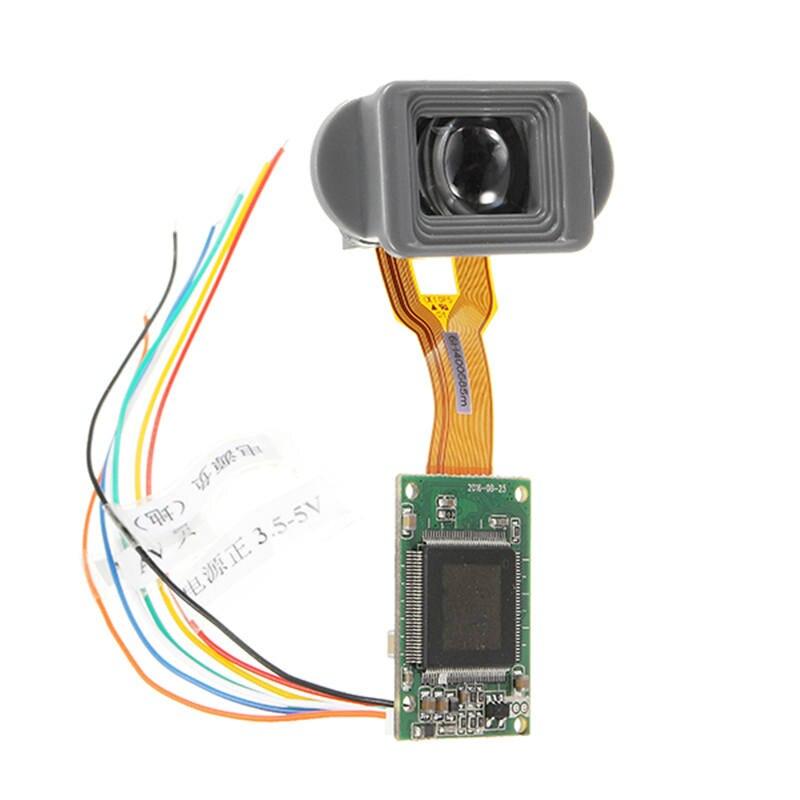 Новый 0,2 дюймов 640*480 FPV мини Дисплей монитор запасные части электронный видоискатель для инфракрасного Ночное видение AV CVBS Вход Радиоуправл...