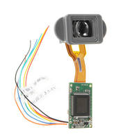 New 0.2 Inch 640*480 FPV Mini Display Monitor Spare Part Electronic Viewfinder for Infrared Night Vision AV CVBS Input RC Drone