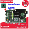stable quality! send cpu + with 2GB RAM for asus K40IN K40IP K50IN K50IP K50AB K40AF K50AF K40AB K40AD K50AD laptop motherboard