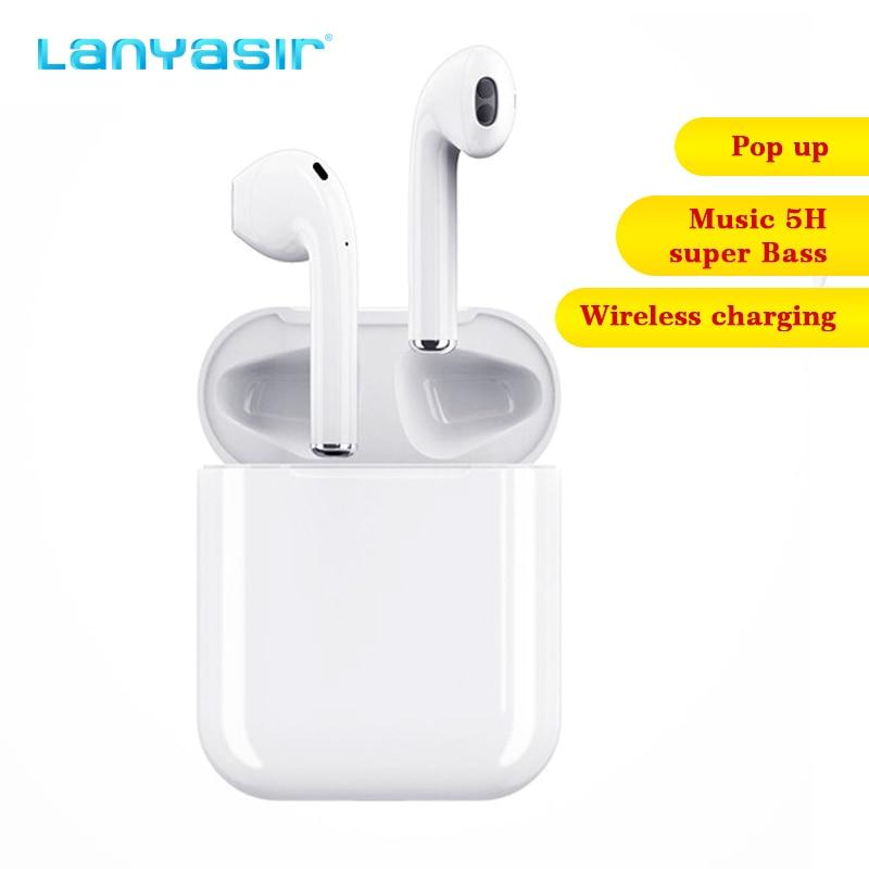 Lanières i30 TWS Pop Up 1:1 taille sans fil Bluetooth écouteur utilisation séparée QI sans fil charge basse écouteurs PK i60 i20 i10 TWS
