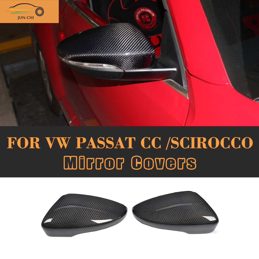 Carbon Fiber side Mirror molding trims cover for VW Beetle 12-14 EOS 11-15 f10 side wing rearview mirror cover caps for bmw sedan 11 13 carbon fiber