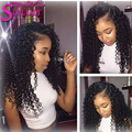 7A Malaysian water wave virgin hair 3 bundle deals with lace frontal weave with baby hair can do bleach knots free shipping