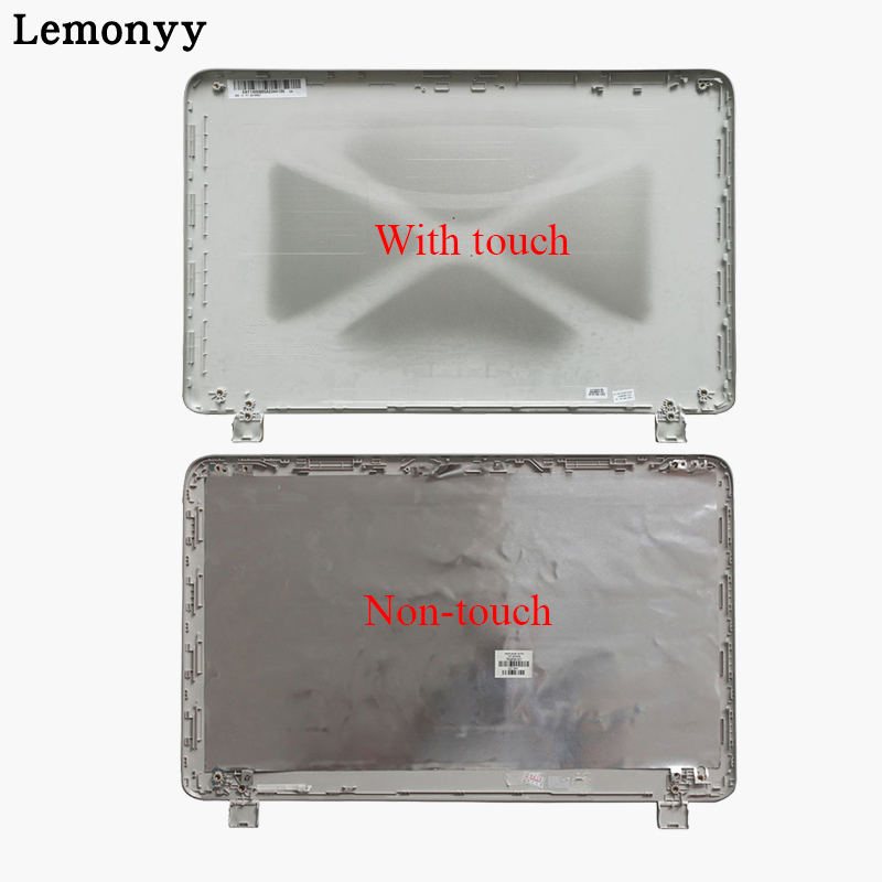 New Laptop LCD Back Cover For HP Pavilion 15-P 15-P066US 15-P000 Silver Non-touch 762508-001/with Touch