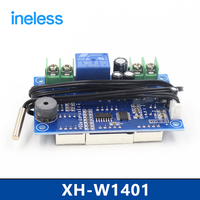 XH W1401 Temperature Controller Temperature Control Switch Upper And Lower Limits Set Three Window Display Digital