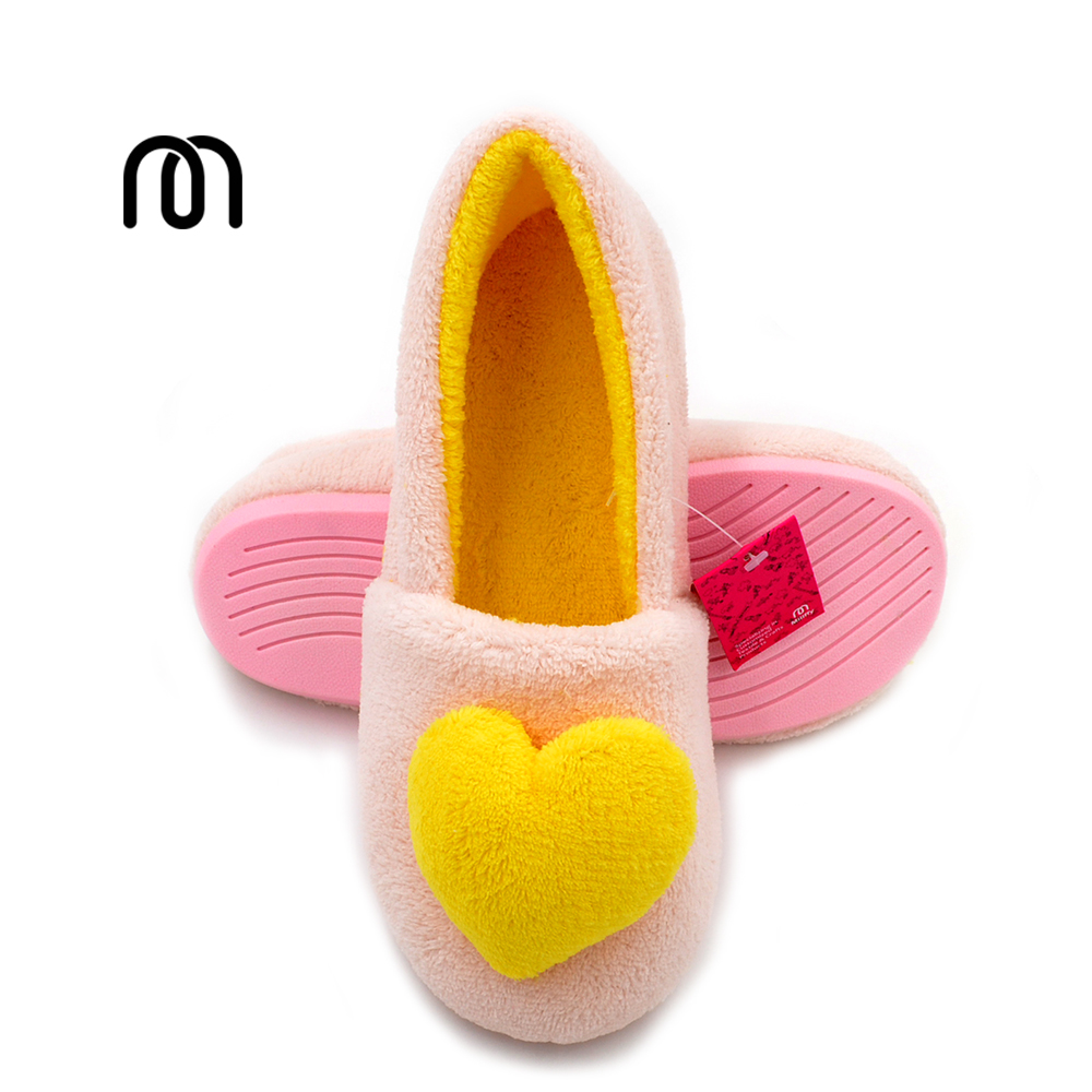 Millffy Spring and autumn five-pointed star love heart rubber shoes, non-slip waterproof indoor home women slippers shoes select indoor five 852708 003 размер 4
