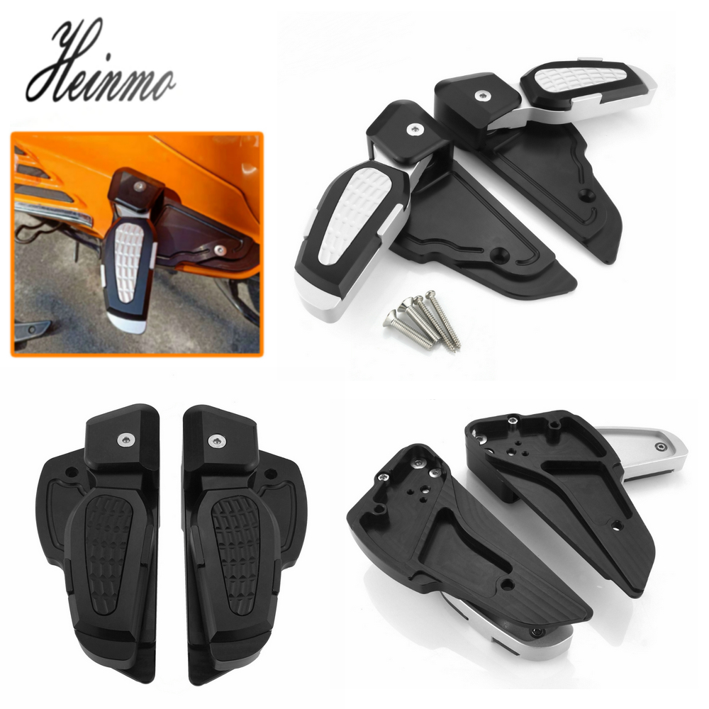 For PIAGGIO VESPA SPRINT 125 150 3Vie Accessories For VESPA Foldable Rear Passenger Footrest Motor For