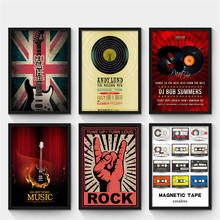 Guitar Vintage Wall Decor Posters