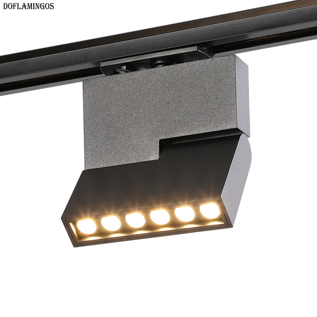 New Design Adjule Angle Led Track Light Museum Art High Quality Cree 12w Exhibition Spotlight