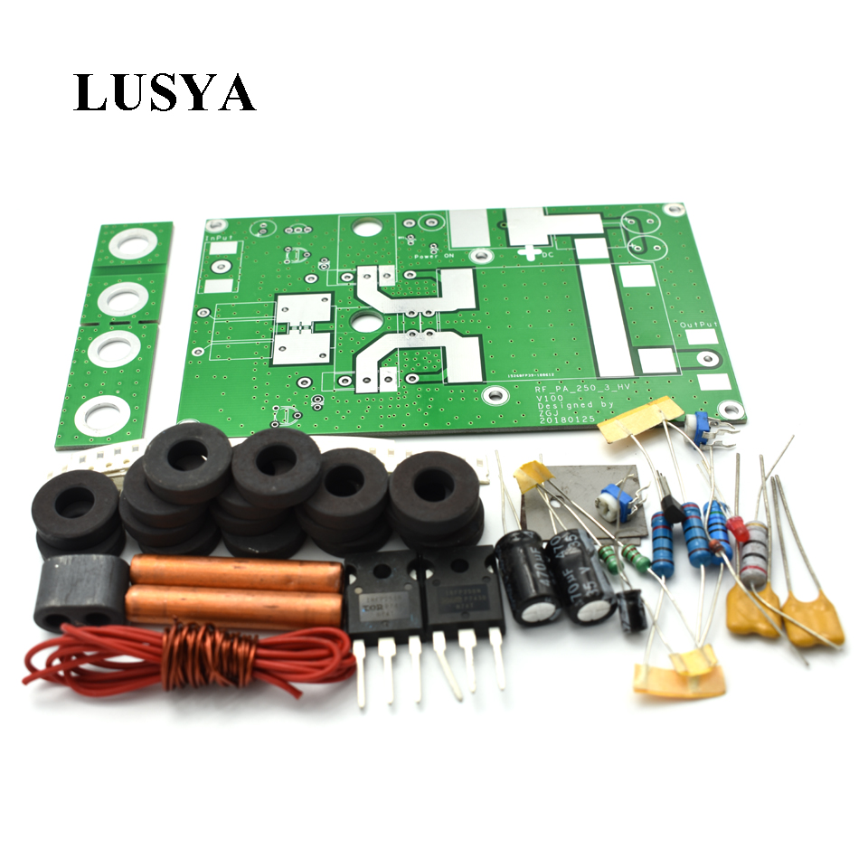Lusya 180W Lineaire Eindversterker board Voor Transceiver Intercom Radio HF FM Ham DIY kits F2 003-in Versterker van Consumentenelektronica op  Groep 1