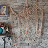 2015 Hot Fashion Nautical Fishing Net Seaside Wall Beach Party Sea Shells Home Garden Decor