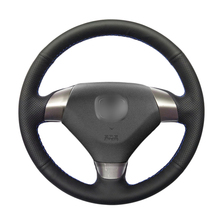 Steering-Wheel-Covers Artificial-Leather Coupe Acura Honda Accord Car Black PU for TSX