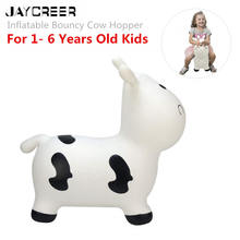 Saltador de vaca JayCreer, tolva inflable espacial, Animal inflable(China)