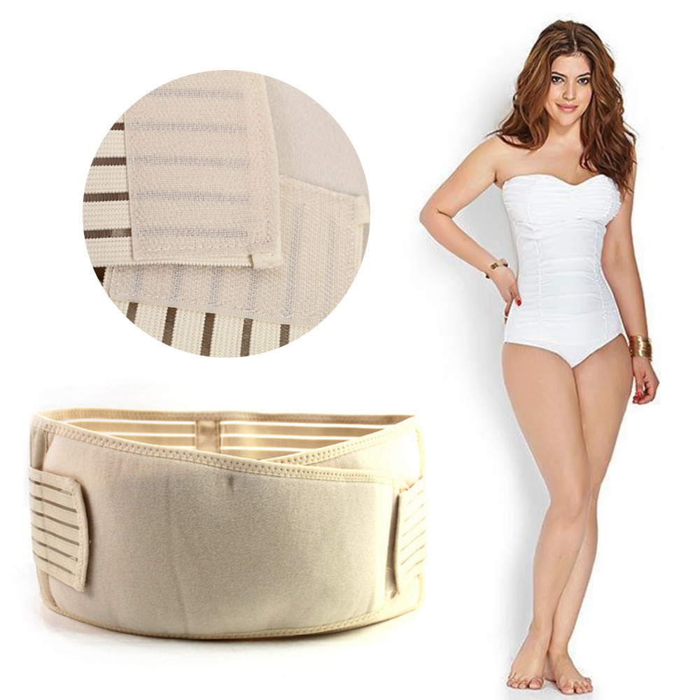 Brand new and high quality Maternity Postpartum Mesh Stripe Buttock Belt Support Shape Wrap Recovery 3 Size