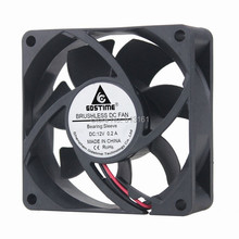 GDT 2Pin 3inch dc brushless fan 5v 12v  70x25mm fast speed