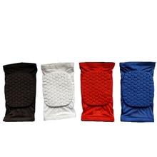 1PC honeycomb short kneepad basketball Leg Sleeve tape Breathable Pad Bumper support Sport Safety Compression Knee brace leggin