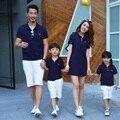 La familia a juego trajes Casual ropa de la familia mamá / madre e hija padre hijo ropa de la familia ropa Tops ropa CH61