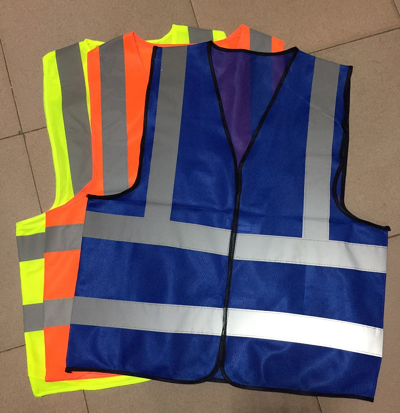 Yemingduo High Visibility Road Traffic Work Safety Vest Reflective Warning Clothing