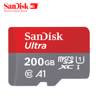 SanDisk Micro SD card 200GB Memory Card 200GB Class10 TF Card C10 microsd UHS I U1 Free Shipping cartao de memoria