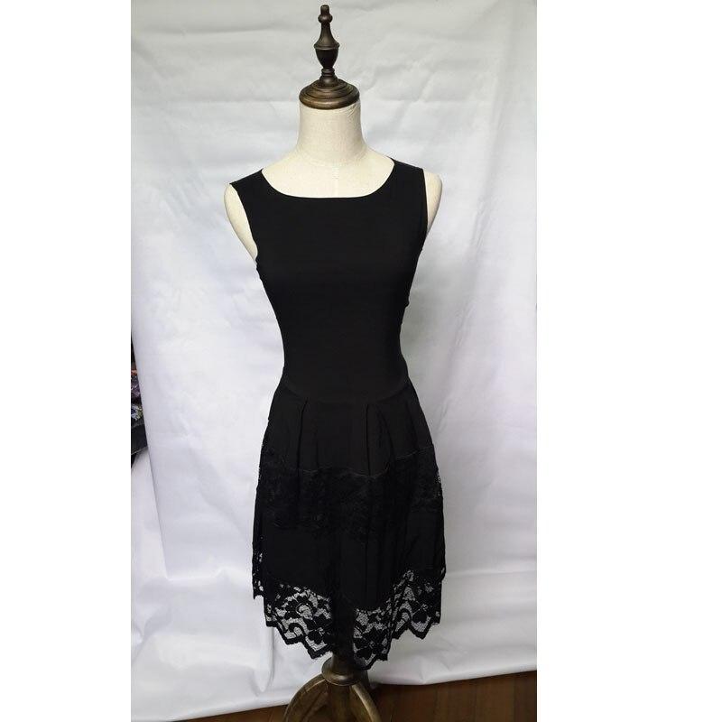 Black Sexy Lace Panel Club Skater Dress Ladies Pleated Mini Party Summer  Dresses Vestido De Renda Vestido De Festa Curto S1577-in Dresses from  Women s ... a873a4f0e