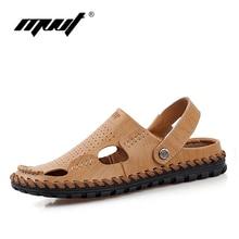 2016 Summer Sandals Men Shoes Fashion Fretwork Flat Shoes Man Slippers For Men Breathable men Casual shoes Hole shoes