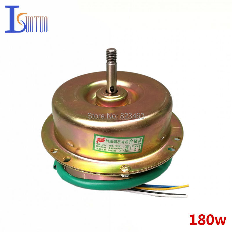 Фотография Genuine exhaust hood motor 180W universal double ball motor Fully enclosed small Resistance and more durable